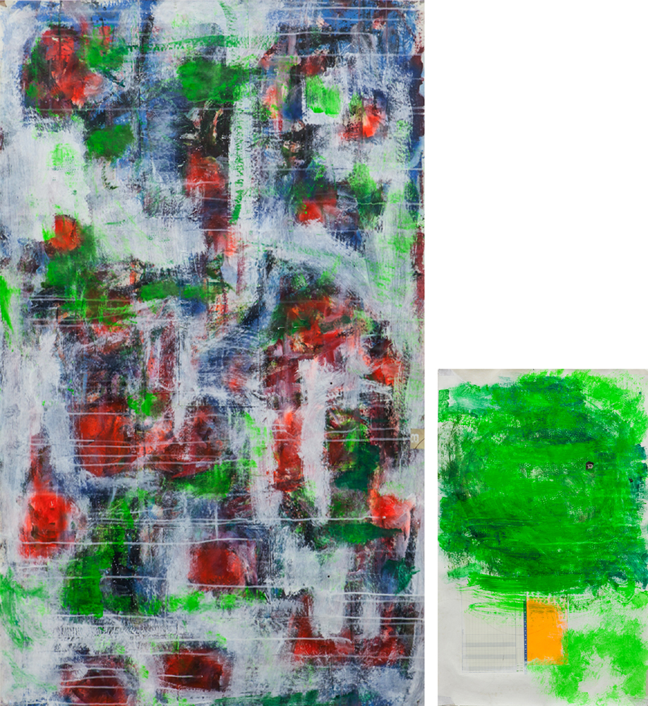 Untitled no 5_2016_diptych 147 x 135 cm